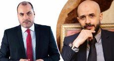 خالد الطوخي رئيس مجلس أمناء جامعة مصر للعلوم والتكنولوجيا والإعلامى محمد الباز
