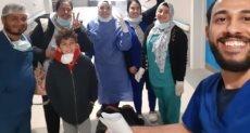 مصابى كورونا بمستشفى أبو خليفة