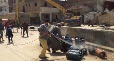 عزل عزبة أبو ربيع بالإسماعيلية