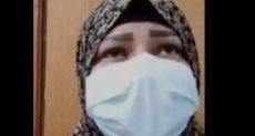 ممرضة مصابة بكورونا