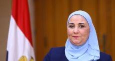 نيفين القباح وزيرة التضامن