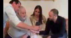 عقد قران زوجين لايف بالأردن
