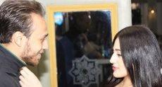 محمد عنتر وزوجته