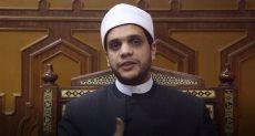 الشيخ محمد منصور  إمام وخطيب مسجد النور بالعباسية