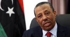 رئيس الحكومة الليبية المؤقتة عبدالله الثنى