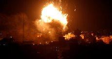 قصف على قطاع غزة-صورة أرشيفية