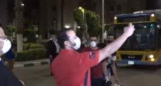 استقبال جامعة القاهرة للمصريين العائدين