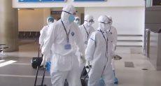 الفريق الطبي داخل مستشفيات العزل