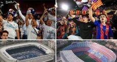 جماهير ريال مدريد وبرشلونة