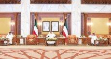 رئيس مجلس وزراء الكويت خلال لقائه الصحف المحلية