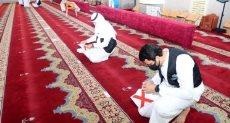 إعداد المساجد بمكة قبيل إعادة فتحها