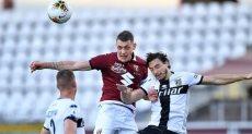 مباراة تورينو وبارما فى الدوري الايطالي