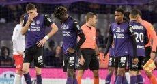 تولوز الفرنسى يعلن إصابة 4 لاعبين بفيروس كورونا   كتب إسلام مسعود