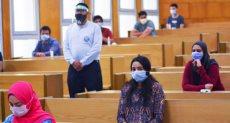 طلاب جامعة مصر للعلوم والتكنولوجيا