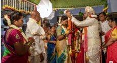 حفل زفاف بالهند