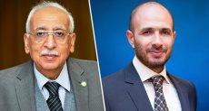 الدكتور خالد الطوخى و الدكتور باهر أبو ستيت عميد كلية الهندسة