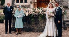 الأميرة بياترس والملكة اليزابيث الثانية