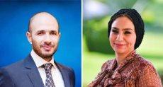 الدكتور خالد الطوخى والدكتورة ياسمين الكاشف