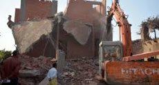 إزالة أبراج سكنية مخالفة