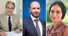ياسمين الكاشف وخالد الطوخى ومحمد العزازى