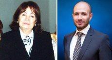 الدكتور خالد الطوخي والراحلة القديرة سعاد كفافي