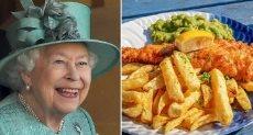 طبق الملكة اليزابيث المفضل