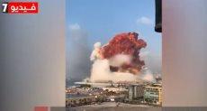 بيروت، انفجار لبنان ،ميناء، السيسى