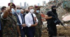 ماكرون فى بيروت