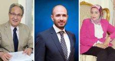 الدكتور محمد العزازى وخالد الطوخى الدكتور نجلاء محمود عواض