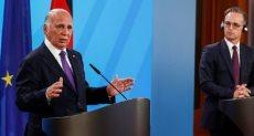 وزير خارجية ألمانيا مع نظيره العراقى