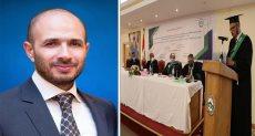 خالد الطوخى ومناقشة رسالة ماجستير عن المدخنة الشمسية