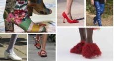 موضة أحذية ربيع وصيف 2021 من مدرجات عروض الأزياء