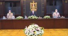 الرئيس عبدالفتاح السيسى يترأس اجتماع المجلس الأعلى للقوات المسلحة