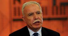 رياض المالكي وزير الخارجية الفلسطينى