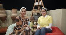 الأختين نهله ونور عبد الناصر