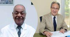 الدكتور محمد العزازى والدكتور مختار الظواهرى