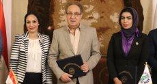 بروتوكول تعاون للاستفادة من إمكانات جامعة مصر في تدريب طلاب جامعة بنغازي