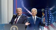 ترامب وجو بايدن