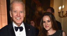 آشلى بايدن ابنة المرشح الديمقراطى للرئاسة الأمريكية جو بايدن
