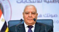المستشار لاشين إبراهيم رئيس الوطنية للانتخابات