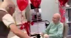 لقاء الزوجين فى دار الرعاية