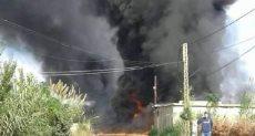 حريق خط أنابيب الغاز