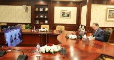 جانب من لقاء النائب العام المصرى مع الجانب الايطالى