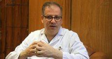 حازم خميس رئيس اللجنة الطبية لبطولة العالم لكرة اليد