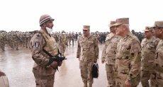 الفريق محمد فريد رئيس أركان حرب القوات المسلحة - أرشفيية