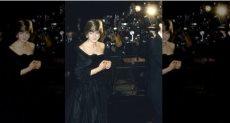 ديانا ترتدى اللون الأسود
