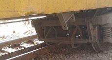 خروج قطار عن القضبان - أرشيفية