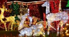 زينة الكريسماس فى حى دايكر هايتس بنيويورك