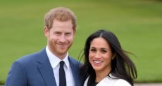 الأمير البريطاني هاري وزوجته ميجان ماركل