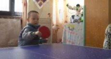 الطفل خلال التدريب
